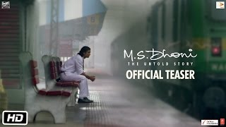 M.S.Dhoni – The Untold Story _ Official Teaser _ Sushant Singh Rajput
