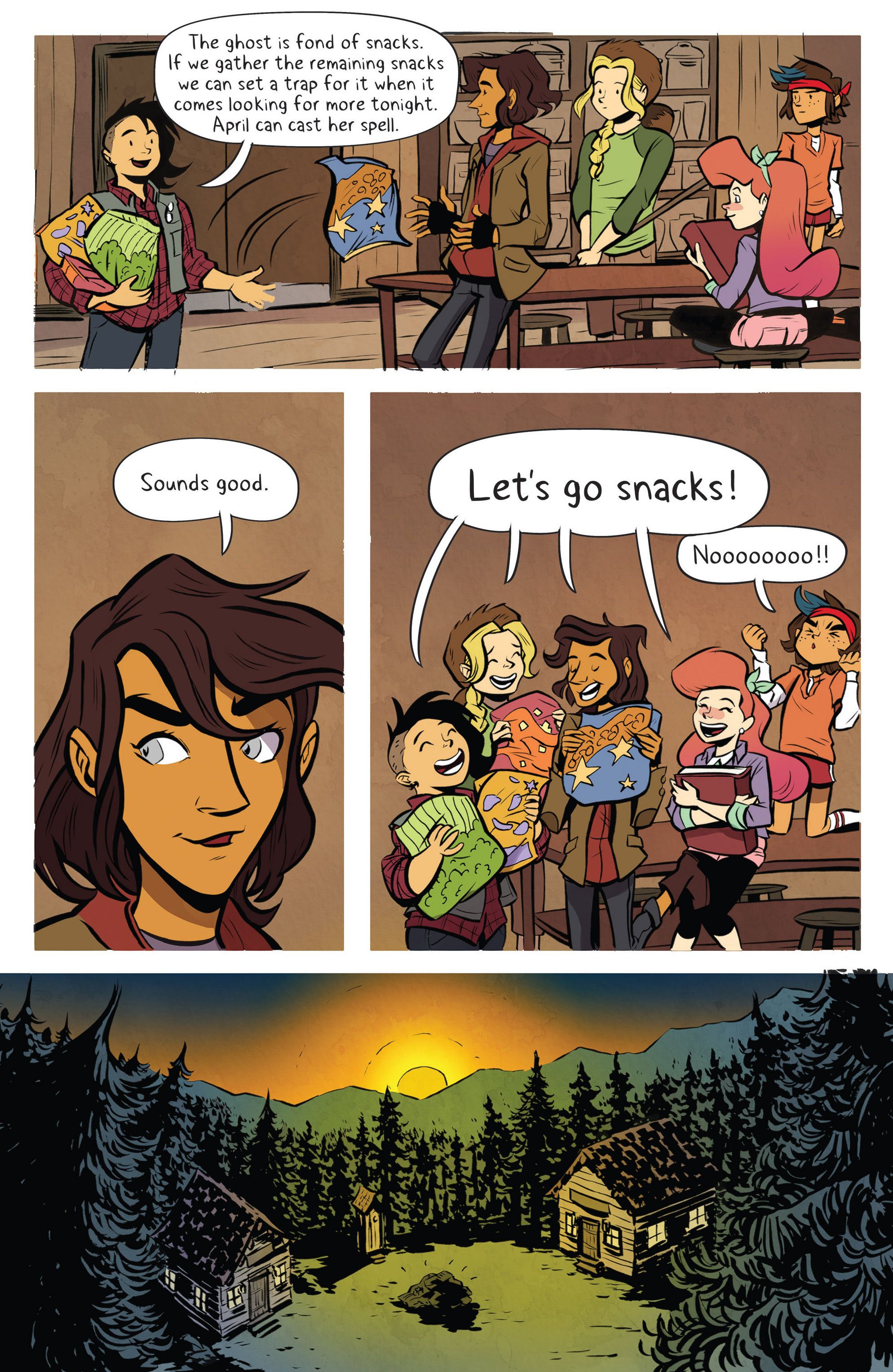 Read online Lumberjanes: Makin' the Ghost of It 2016 Special comic -  Issue # Full - 26