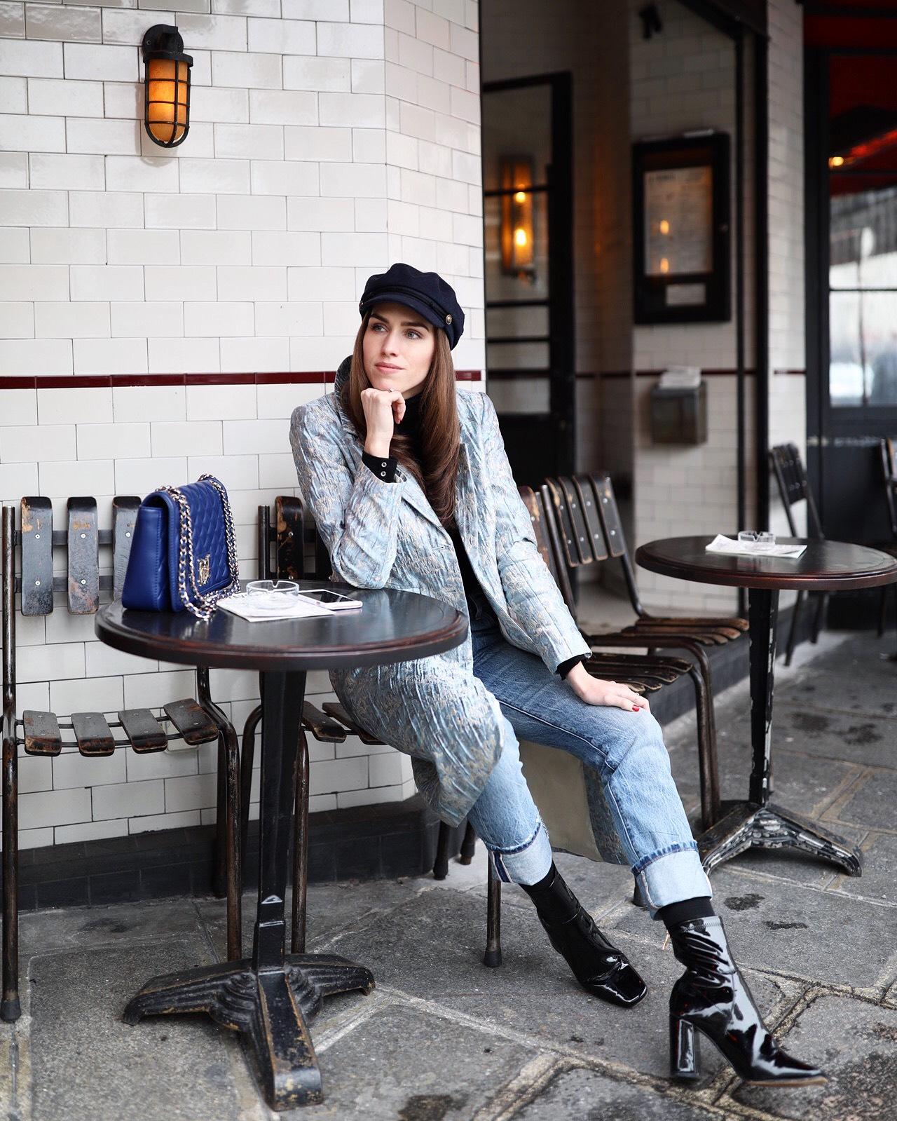 kristjaana mere spring paris cafe street style