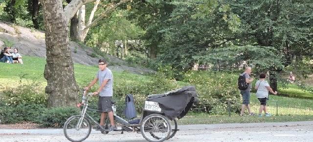Central Park Pedicab Tours by Cherry Hills