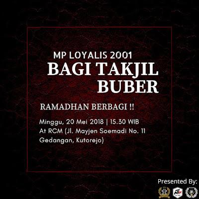 MP Loyalis 2001 Relegi Fest Takjil On The Road 2018