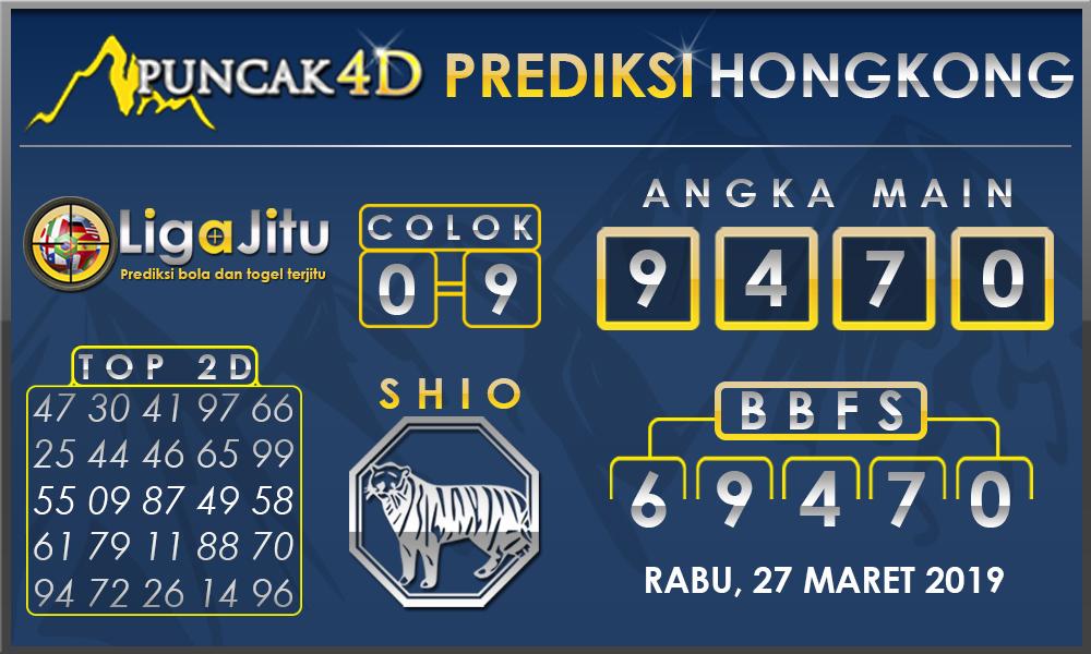 PREDIKSI TOGEL HONGKONG PUNCAK4D 27 MARET 2019