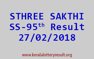 STHREE SAKTHI Lottery SS 95 Results 27-02-2018
