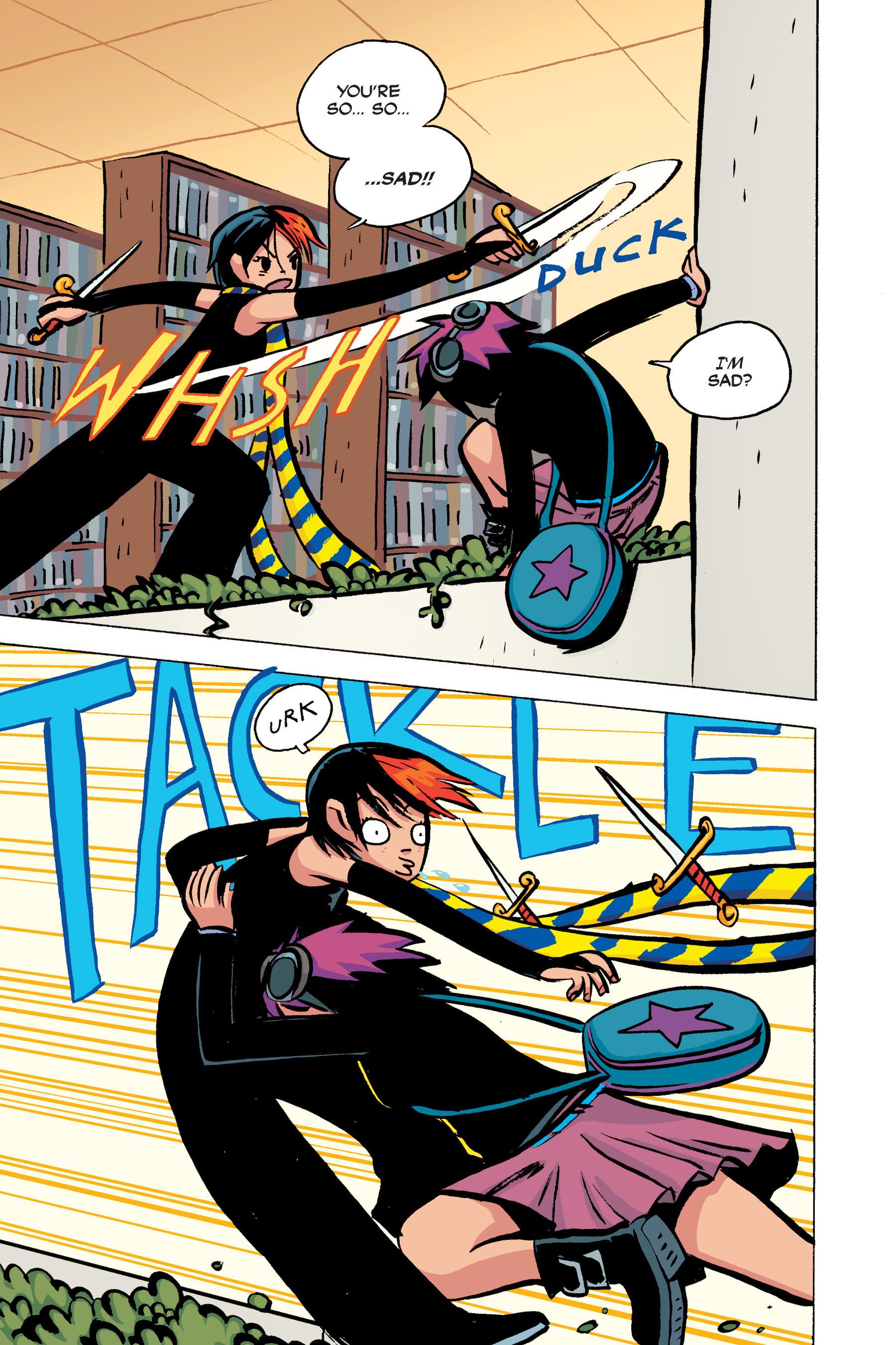Read online Scott Pilgrim comic -  Issue #2 - 142