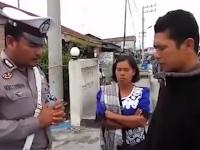 Lucu x, Polisi ini sebelum menilang berdoa dulu: Ramoti ma bapak girsang on Tuhan