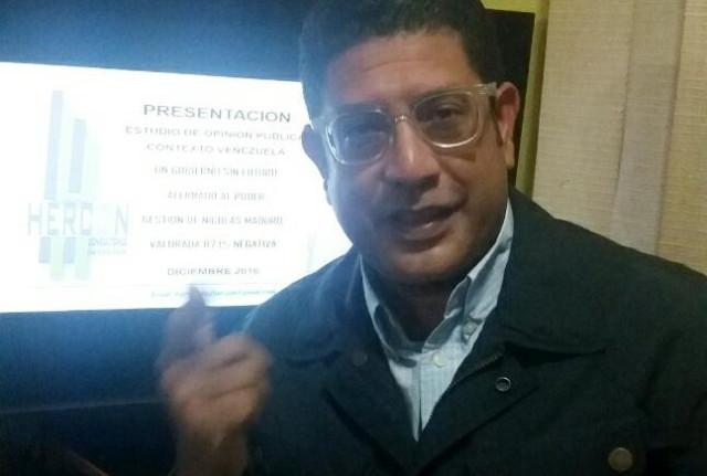 Presidente de Hercon Consultores: Maduro transita finalmente por el escenario perder, perder