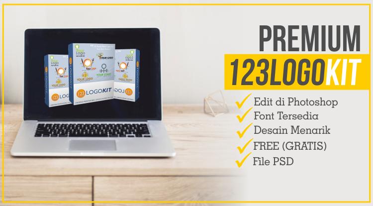 Premium Logo PSD Toolkit Untuk Branding Perusahaan dan Produk