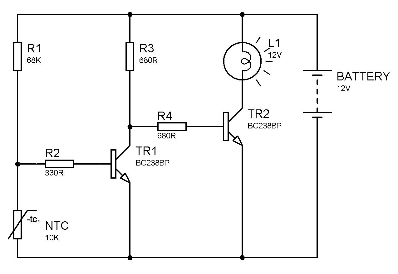 Elektrik Elektronik Robotik Kodlama Isi Alarm Devres
