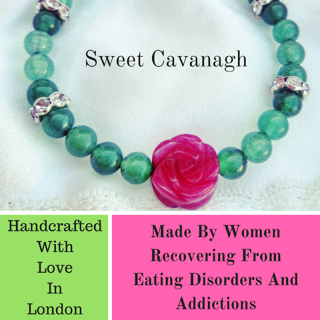 Sweet Cavanagh jewelry handmade by women recovering from eating disorders and addictions Joanna Joy A Stylish Love Story fashion lifestyle blog giving back gifts that give back bracelet, eating disorder support, handmade, jewelry, mental health, recovery, social impact, social responsibility, socially conscious, womens empowerment