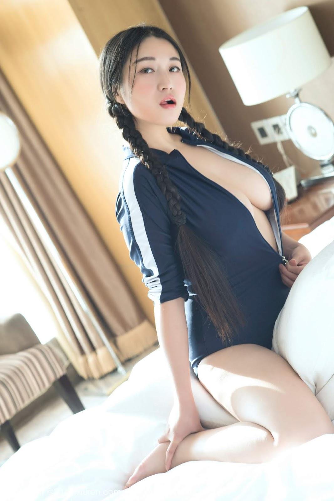 Nude Asian Big Boobs Model Pan Pan Yi Jiu Nude Photos