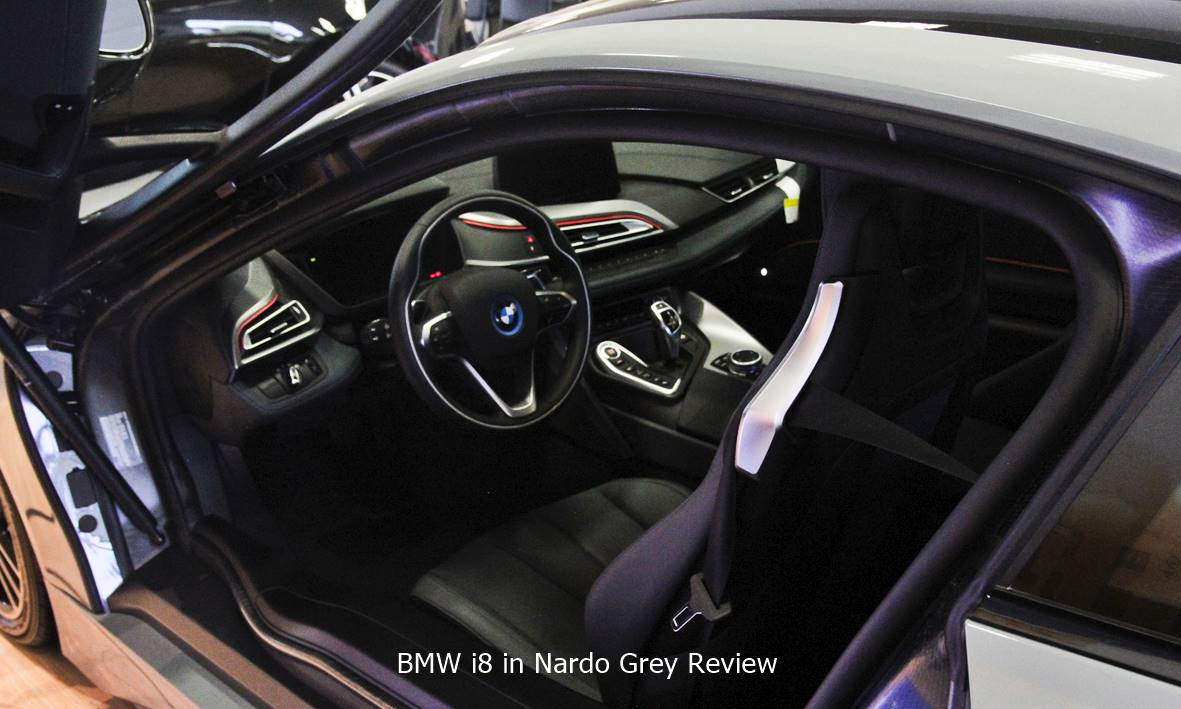 Bmw I8 In Nardo Grey Review Auto Bmw Review
