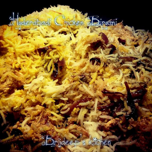 how to prepare hyderabadi chicken biryani