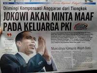 Usai Partai Komunis Kunjungi Indonesia, Rakyat Cemas Era Jokowi Makin Condong Ke Komunis