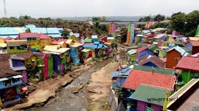 lokasi kampung warna warni di malang