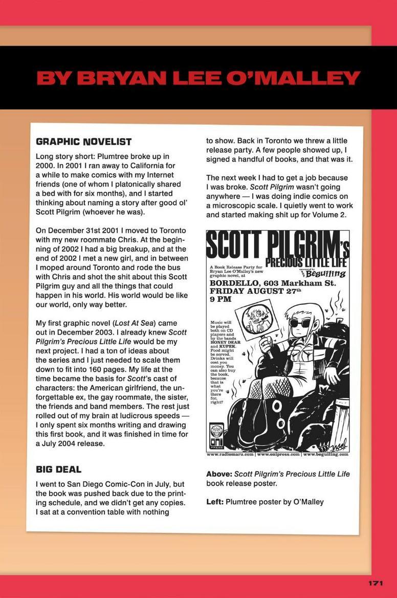 Read online Scott Pilgrim comic -  Issue #1 - 152