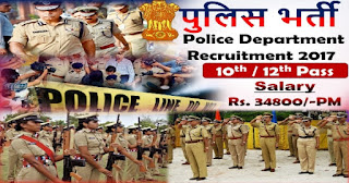 Karnatka state Police recruitment 2017 for the 1588 post of Armed police constable (Man)