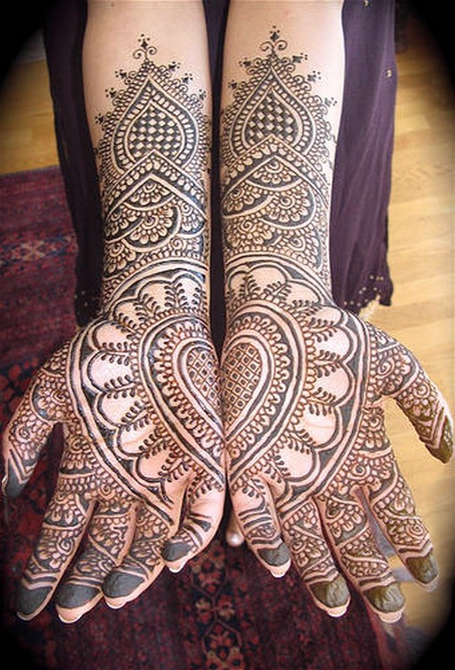 Henna Tattoo For Indian Wedding: Latest Indian Sudani Pakistani Arabic Arabian Mehndi