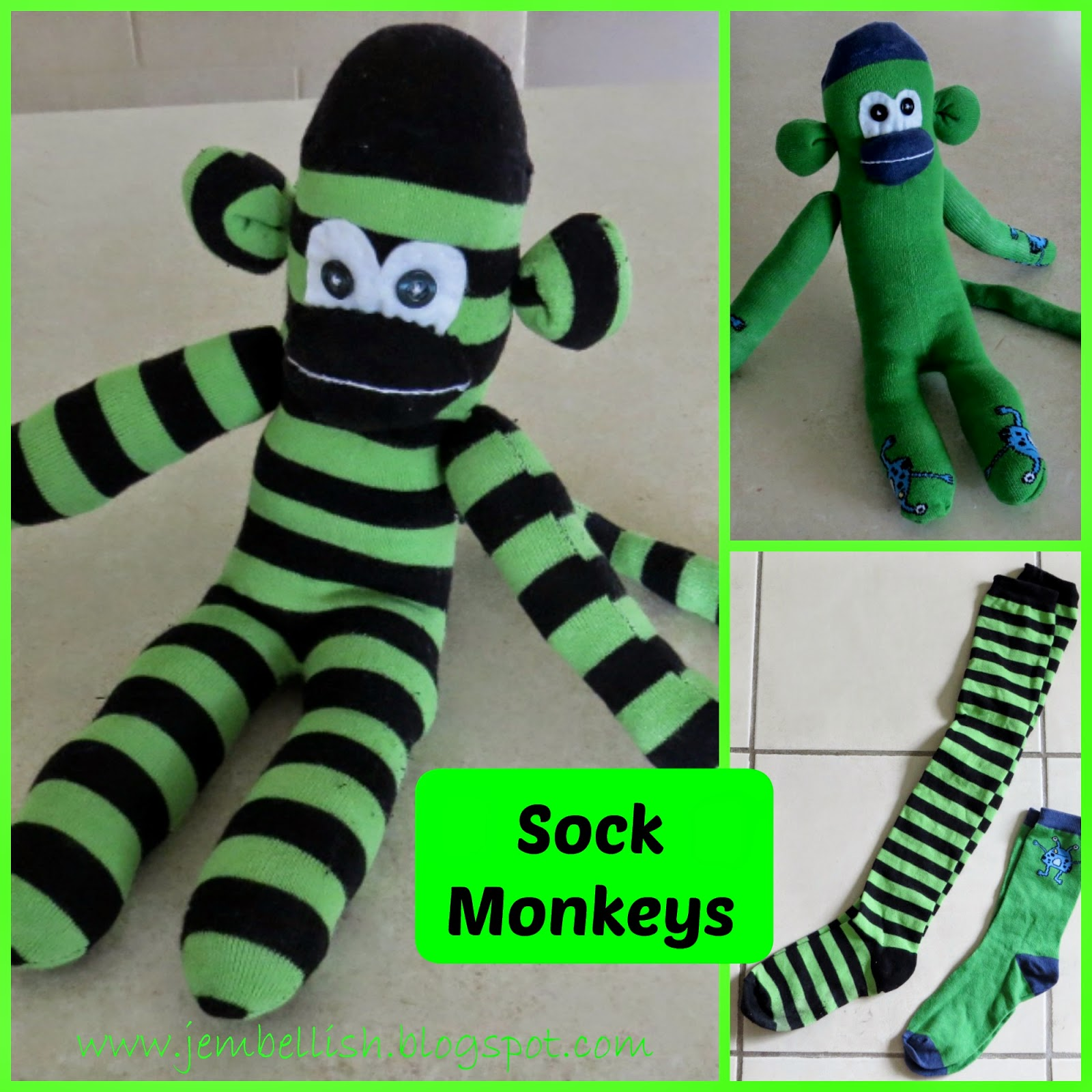 More Sock Monkeys
