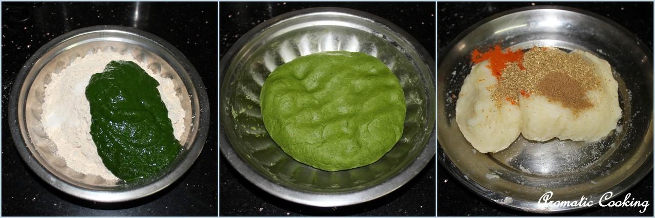 Aromatic Cooking: Palak Aloo Parathas, Spinach Potato Parathas