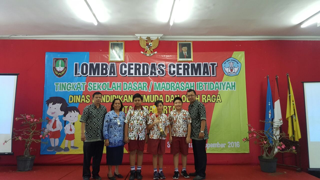 SD Kristen Kalam Kudus Surakarta Juara 1 LCC Tingkat Kota Surakarta