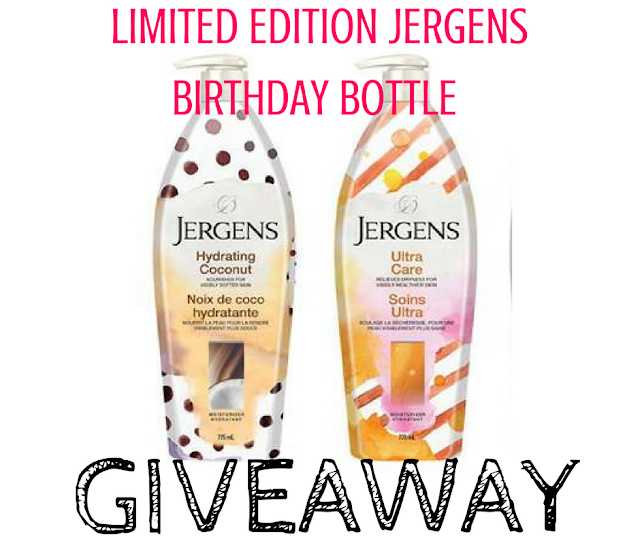 WIN a Limited Edition Jergens Birthday Bottles