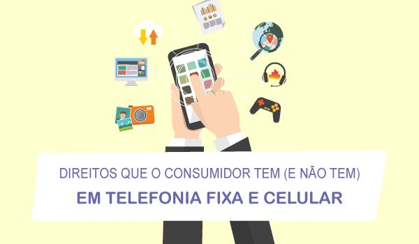 Direitos do consumidor em telefonia celular
