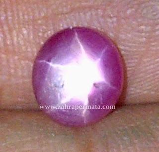 Batu Permata Ruby Star - ZP 375