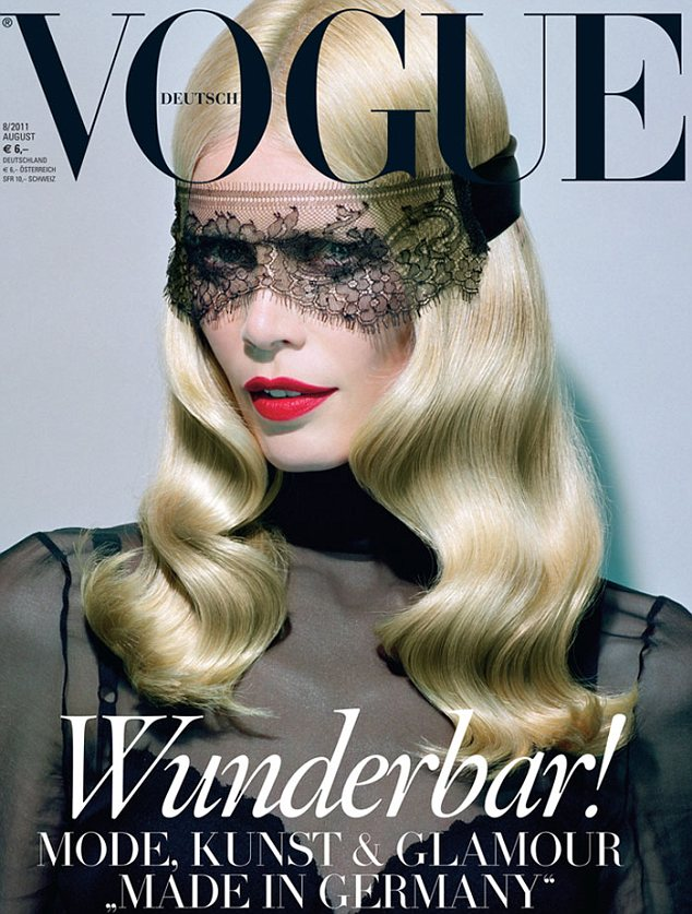 CLAUDIA SCHIFFER for VOGUE GERMANY AUGUST 2011