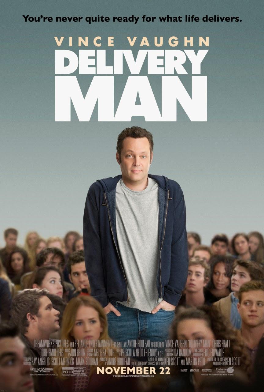 Delivery Man, teslimatçı, süper baba, 533 çocuk, starbuck, sperm bağışçısı,  Vince Vaughn