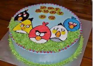 Kue Angry Bird