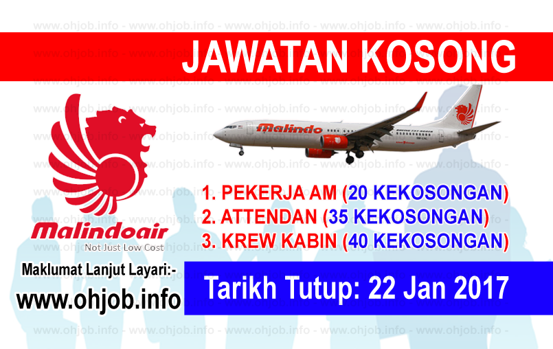 Jawatan Kerja Kosong Malindo Airways logo www.ohjob.info januari 2017