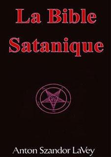 """La couverture de la """"Bible satanique"""" d'Anton Szandor Lavey"""