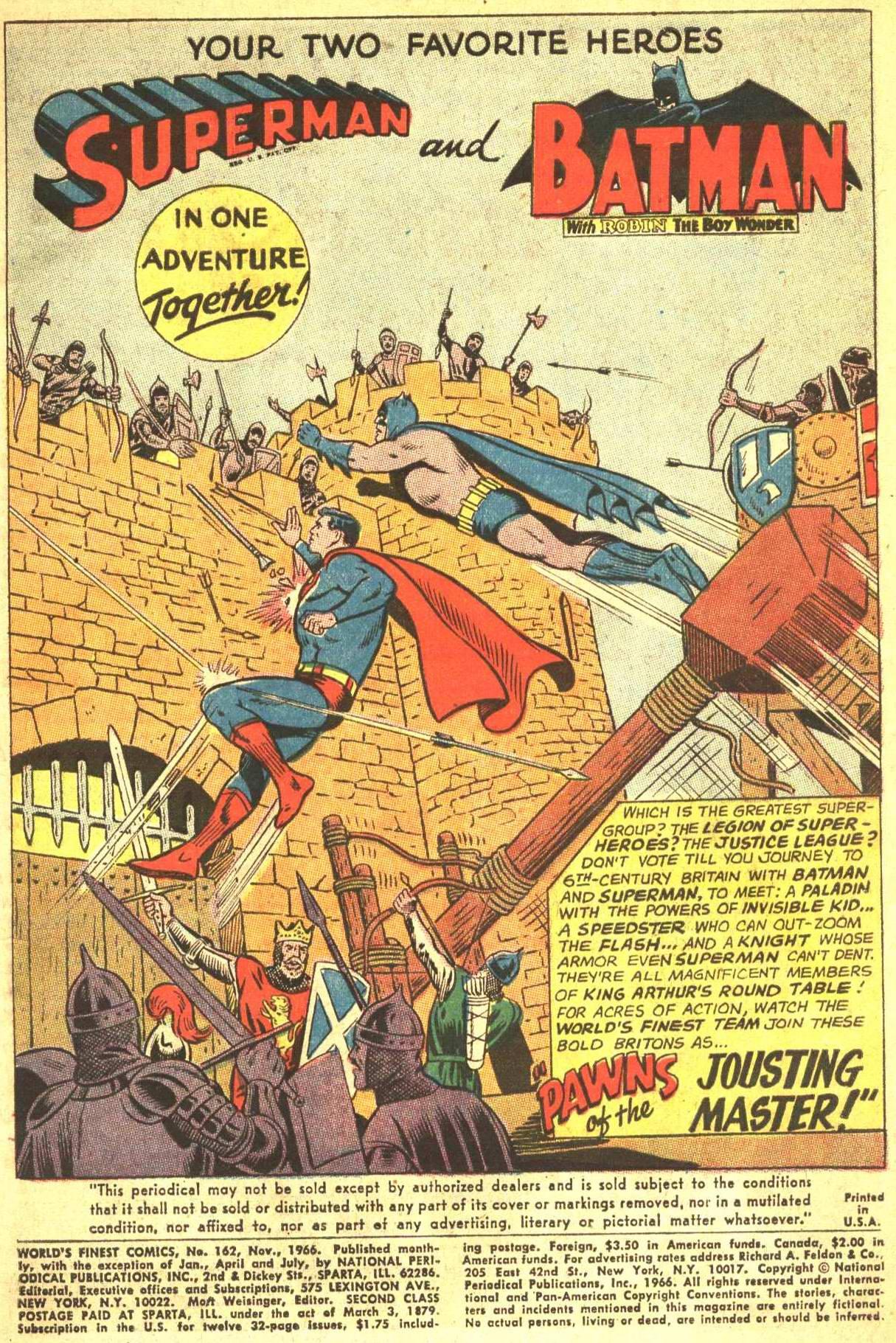 Read online World's Finest Comics comic -  Issue #162 - 3