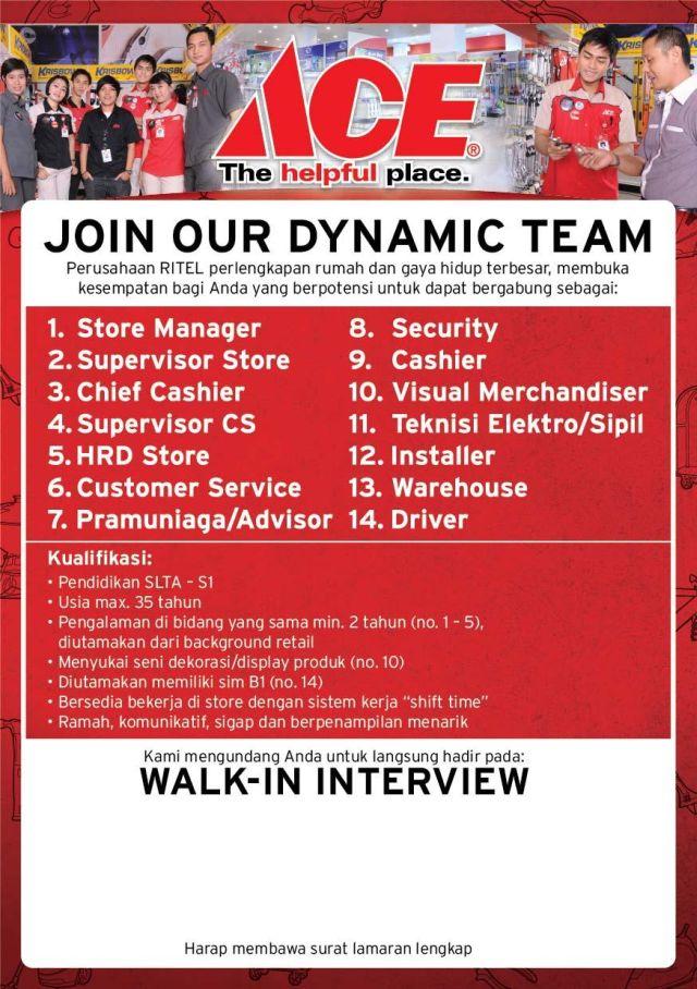 Karir Perusahaan Kawan Lama Retail Group - Rekrutmen Besar-Besaran