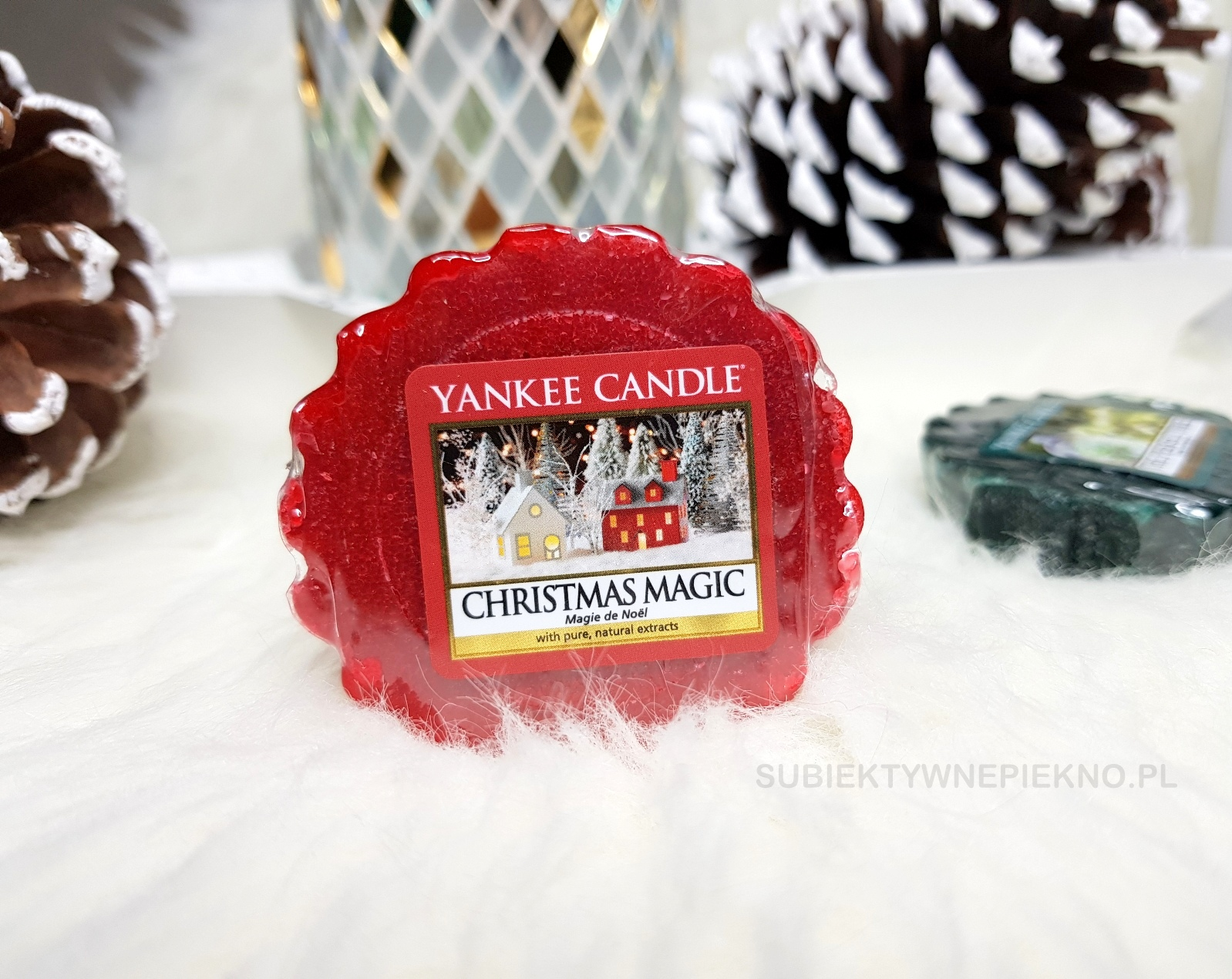 Christmas Magic Yankee Candle | zimowa kolekcja Q4 2017