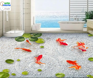 Custo Glass Floor