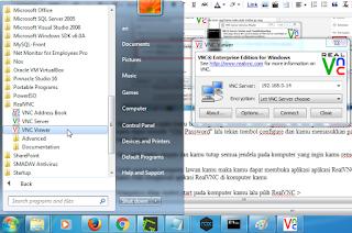 Cara Remote PC Dengan Menggunakan Aplikasi RealVNC