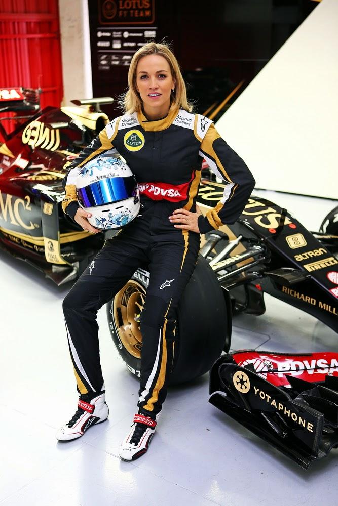 CARMEN JORDA JOINS LOTUS F1 - FORMULA 1