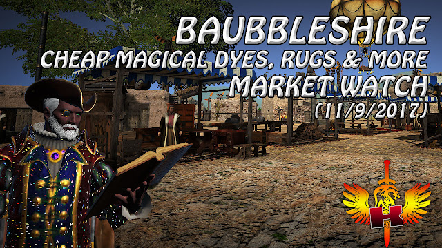 Baubbleshire - Cheap Magical Dyes, Rugs and More (11/9/2017)