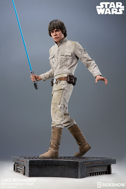 osw.zone Sideshow Collector's Edition Star Wars Episode V Luke Skywalker 20-inch high PremiumFormat ™ Image