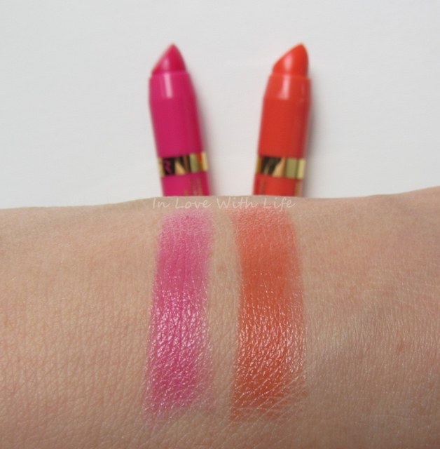 Astor Soft Sensation Lipcolor Butter - Swatches