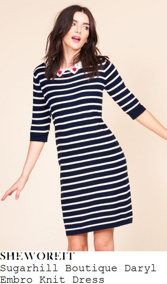tamzin-outhwaite-sugarhill-boutique-daryl-embro-navy-blue-and-cream-striped-knit-dress