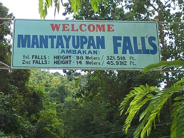 Information about Mantayupan Falls