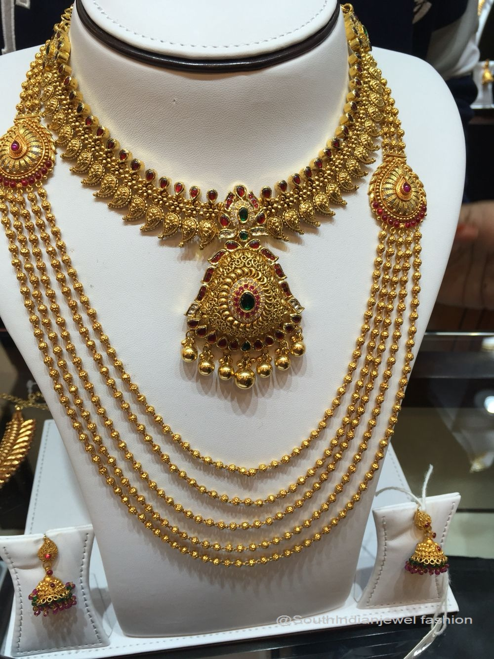 15 Stunning Gold Jewellery Designs From Grt Grand Chennai