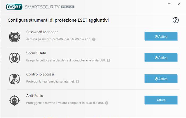 SSP%2Bprot%2Bagg - Recensione Eset Smart Security Premium