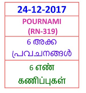 24-12-2017 6 NOS Predictions POURNAMI (RN-319)