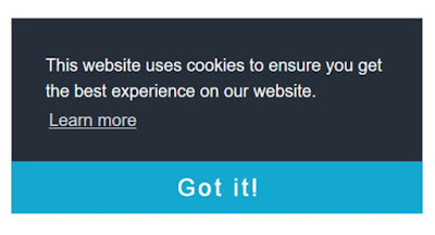 cookie consent blogger