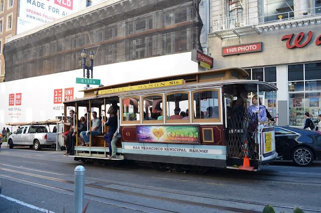 Bondinho de San Francisco.