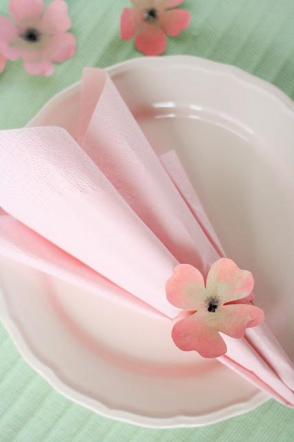 Tischdeko zum Selbermachen - Frühling