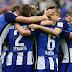 O Sporting venceu o Porto por 2 a 1 (Foto: Patricia de Melo Moreira/AFP)